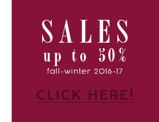 Fall Winter 2016 collection sales 50%