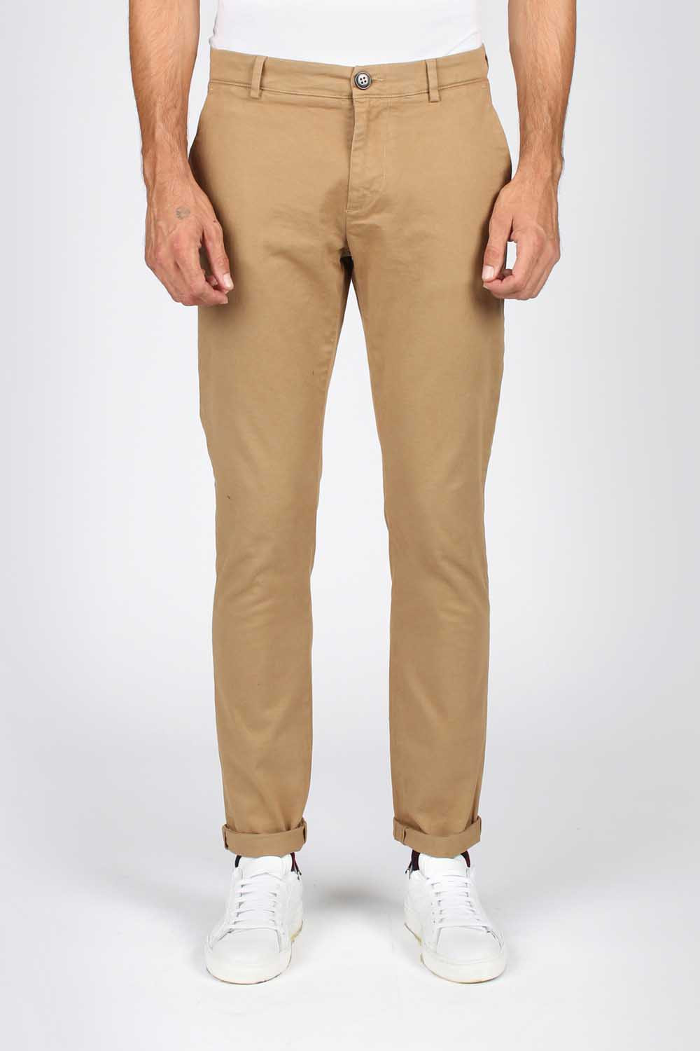 comprare on line 7b973 716a9 Pantaloni chino beige